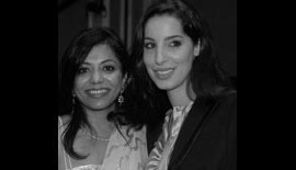 Ms Malini N. Menon, Founder & Managing Director, IEDEA, with Ms Nadia Zaal, CEO, Zaya Real Estate, UAE at ABA ME 2007
