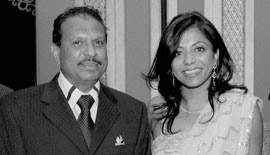 Ms Malini N. Menon, Founder & Managing Director, IEDEA, with Mr Yusuff Ali M.A., Managing Director, EMKE (Lulu) Group, UAE, at the ABA ME 2007
