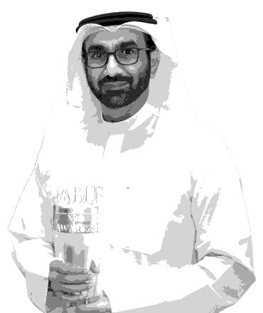 Hesham Abdulla Al Qassim at the ABLF Awards 2016 - an event concept by IEDEA