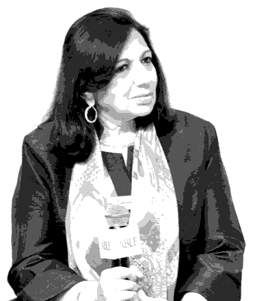 Kiran Mazumdar-Shaw at the ABLF 2015 - an event concept by IEDEA
