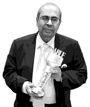 Prakash P. Hinduja at the ABLF Awards 2016 - an event concept by IEDEA