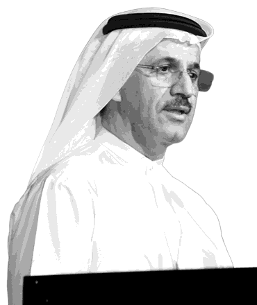 H.E. Sultan bin Saeed Al Mansouri at the ABLF Awards 2014 - an event concept by IEDEA