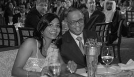 Ms Malini N. Menon, Founder & Managing Director, IEDEA, with Mr Narayana Murthy, Founder & Executive Chairman, Infosys Limited, at the ABA ME 2007