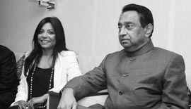 Ms Malini N. Menon, Founder & Managing Director, IEDEA with H.E. Kamal Nath, Union Minister of Urban Development and Parliamentary Affairs, Government of India at the Asian Business Leadership Forum 2012