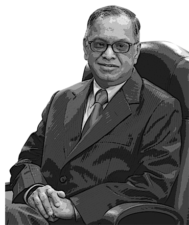 N R Narayana Murthy at the Asian Business Awards ME 2007 - an event concept by IEDEA