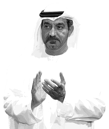 H.H. Sheikh Ahmed Bin Saeed Al Maktoum at the ABLF Awards 2013 - an event concept by IEDEA